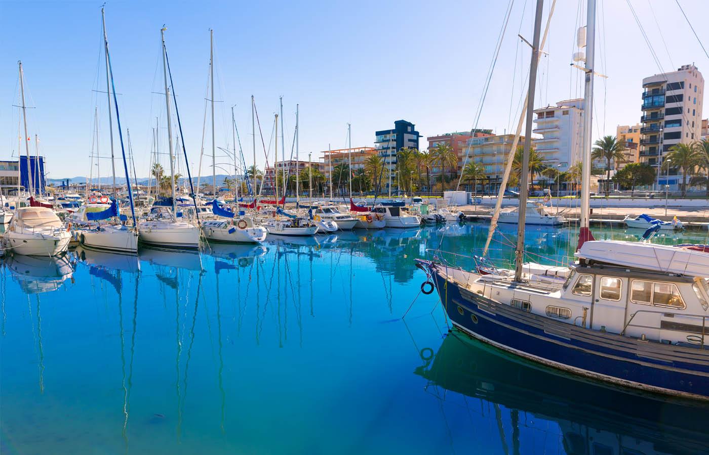 Gandia puerto barcos
