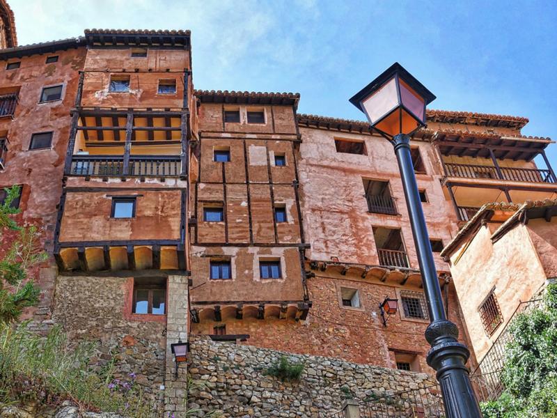 los destinos más bonitos de españa: albarracín