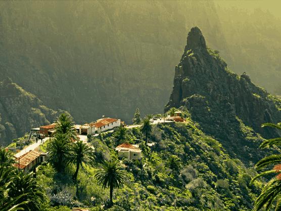 Lugares con encanto en Tenerife.