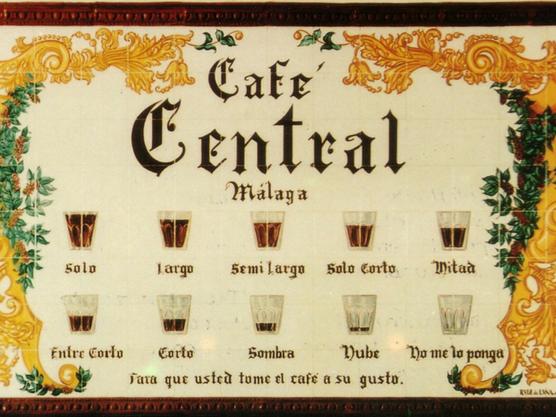 como pedir un cafe en malaga