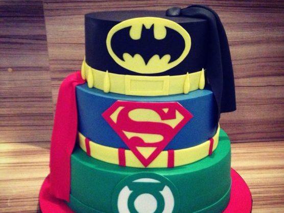 Tarta de superhéroes | Pinterest