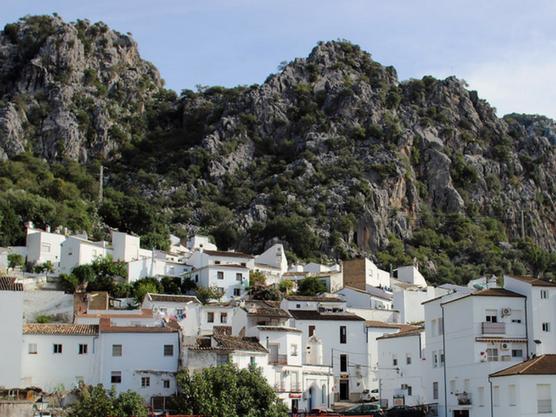 Ubrique, uno de los pueblos blancos de Andalucía.