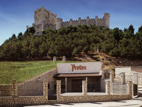 Bodega de la zona de Ribera del Duero, donde se hacen algunos de los mejores vinos de España