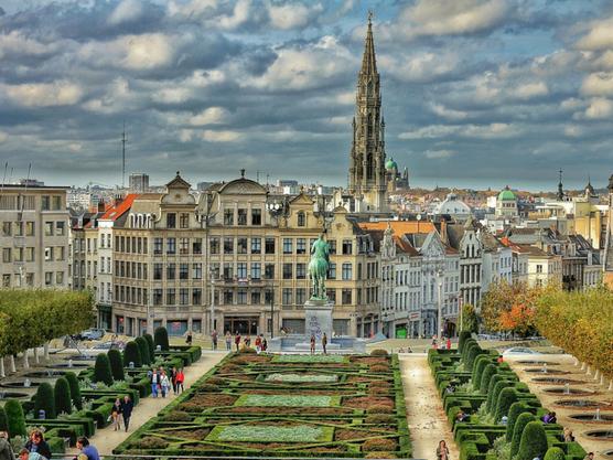 Vista de Bruselas