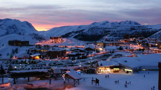 orte in den französischen alpen huez