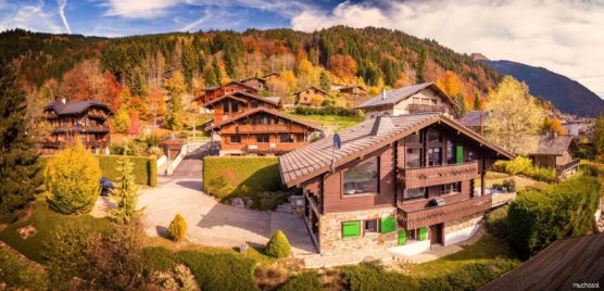 orte in den französischen alpen megeve