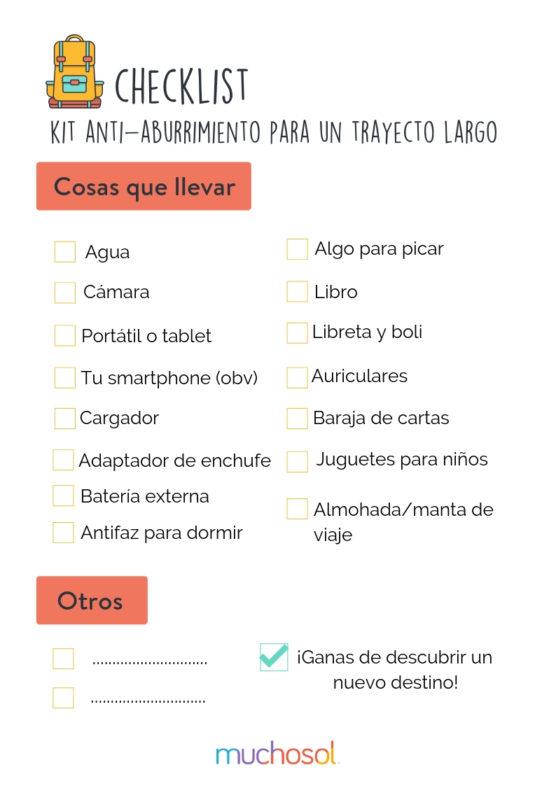 no-aburrirse-en-trayectos-largos-checklist-muchosol