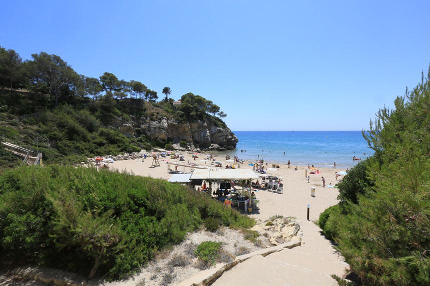calas-espana-Cala-Crancs-playa-salou